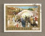 Sellos de Europa - Hungría -  El pozo de María en Nazareth