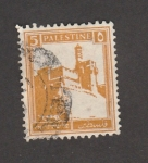 Sellos de Asia - Israel -  Muralla Jerusalén