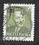 Sellos de Europa - Polonia -  492 - Bolesław Bierut