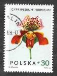 Sellos de Europa - Polonia -  1347 - Orquídeas