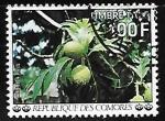 Sellos del Mundo : Africa : Comores : Frutas - Breadfruit