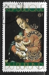 Sellos del Mundo : Africa : Burundi : Pintura - L. de Morales : Madonna and Child