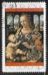 Sellos del Mundo : Africa : Burundi : Pintura - Madonna & Child by da Vinci