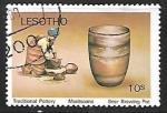 Sellos del Mundo : Africa : Lesotho : Artesania