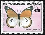 Sellos del Mundo : Africa : Mali : Mariposas - African Monarch