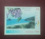 Sellos del Mundo : America : Cuba : Jacaranda arbarea