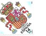 Sellos del Mundo : Europa : España : escudo de españa