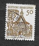 Sellos de Europa - Alemania -  909 - Castillo Gate