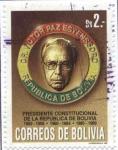 Sellos del Mundo : America : Bolivia : Homenaje a Victor Paz Estenssoro presidente constitucional de la Republica de Bolivia