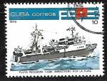 Sellos de America - Cuba -  Barcos de ´pesca