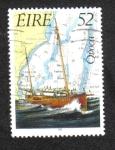Sellos del Mundo : Europa : Irlanda : Patrimonio Marítimo Irlandés 1992