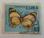 Sellos del Mundo : America : Cuba : mariposa