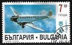 Sellos de Europa - Bulgaria -  Aviones - Junkers Ju52/3m