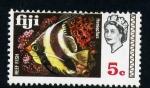 Sellos del Mundo : Oceania : Fiji : Pez de arrecife