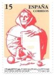 Sellos de Europa - España -  Literatura:Fray Luis de León