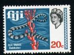 Sellos del Mundo : Oceania : Fiji : Serpiente marina
