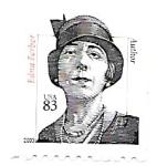 Sellos de America - Estados Unidos -  Edna Ferber