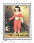 Sellos de Asia - Emiratos Árabes Unidos -  pintura española