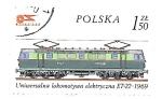 Sellos de Europa - Polonia -  locomotoras
