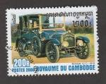 Sellos de Asia - Camboya -  Auto Rover de 1912