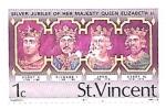 Sellos de America - San Vicente y las Granadinas -  reyes de Inglaterra