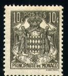 Sellos del Mundo : Europa : Mónaco : Escudo de Principado de Monaco