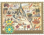 Sellos de Europa - Portugal -  Cartografía portuguesa