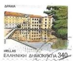 Sellos de Europa - Grecia -  arquitectura
