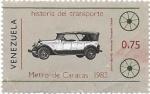 Sellos de America - Venezuela -  coche antiguo