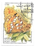 Sellos del Mundo : Asia : Afganistán : Mariposa