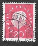 Sellos de Europa - Alemania -  795 - Theodor Heuss