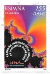 Sellos del Mundo : Europa : España :  campaña contra la violencia de genero