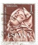 Sellos de Europa - España -  IV cent.Reforma teresiana