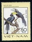 Sellos del Mundo : Asia : Vietnam : Anthracoceros Malayanus