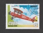 Sellos de America - Cuba -  Avión Comte AC-4