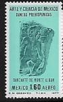 Sellos de America - México -  Danzas prehispánicas, Monte Albán