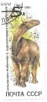 Sellos de Europa - Rusia -  Fauna prehistórica