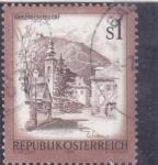 Sellos de Europa - Austria -  basílica Kahlenbergerdorf, Vienna