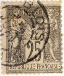 Sellos del Mundo : Europa : Francia : Paix et Commerce