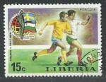 Sellos de Africa - Liberia -  Futbol