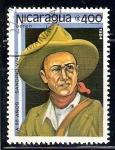 Sellos de America - Nicaragua -  Sandino