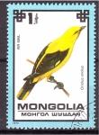 Sellos de Asia - Mongolia -  serie- Aves