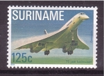 Sellos del Mundo : America : Surinam : 75 aniv. 1º vuelo