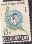 Sellos de America - Cuba -  Primer Congreso Nacional