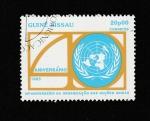 Sellos de Africa - Guinea Bissau -  40 Aniv. ONU