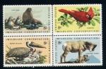 Sellos del Mundo : America : Estados_Unidos : Conservacion  de la Naturaleza