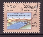 Sellos de Asia - Irak -  Presa hidroeléctrica