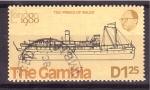Sellos de Africa - Gambia -  E.F.I. Londres'80