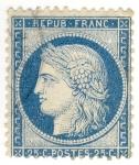 Sellos del Mundo : Europa : Francia : Cérès (Repub Franc)