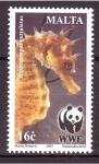 Sellos de Europa - Malta -  serie- Fauna protegida